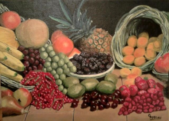 des fruits frais du marché